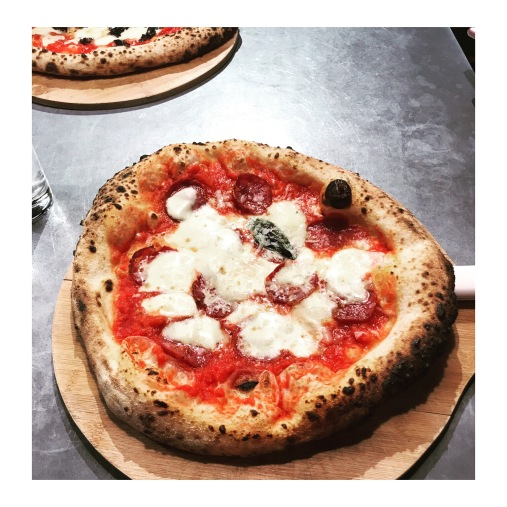 Ply Manchester Salami Pizza Northern Quarter